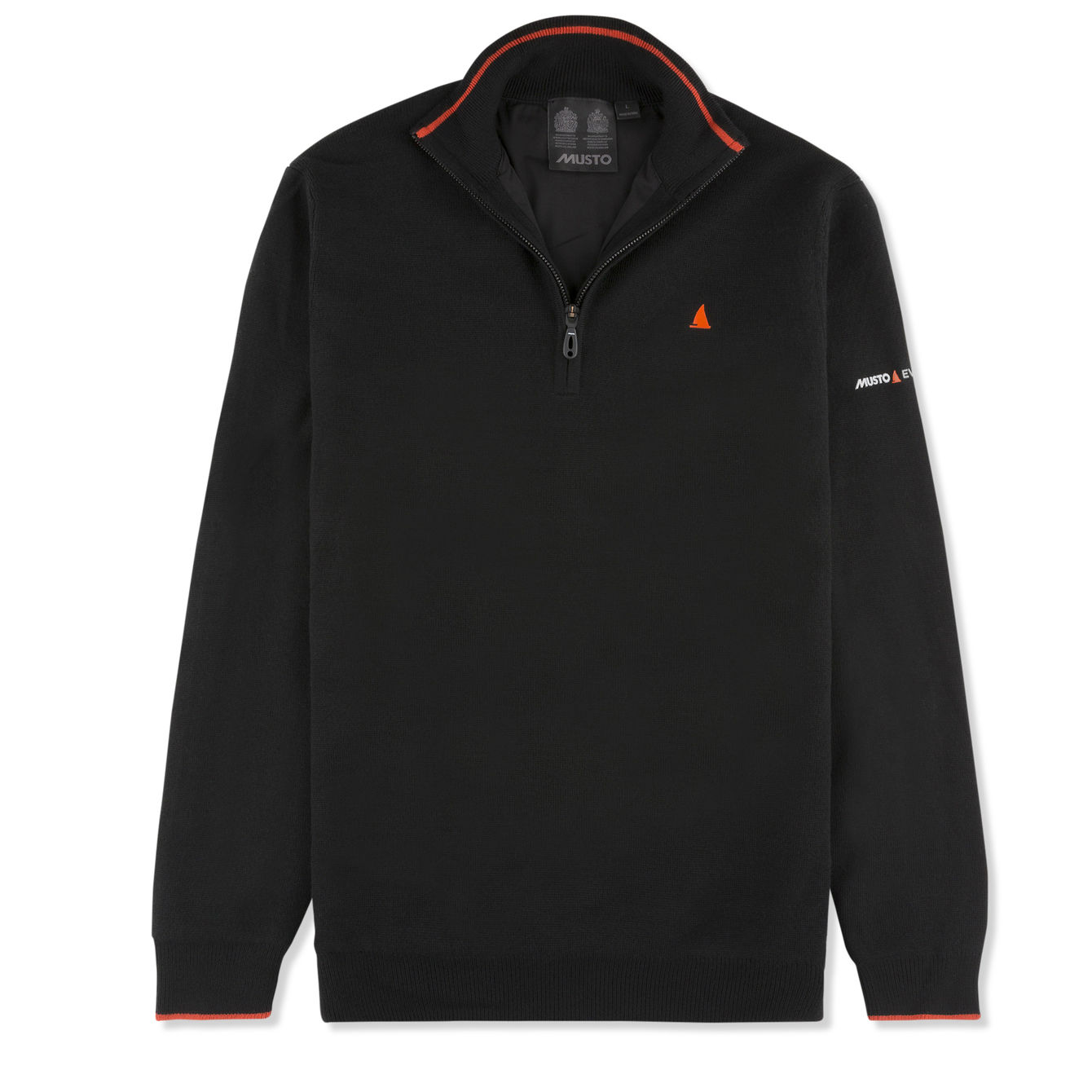 EFFORTLESS WJ 1/2 ZIP KNIT