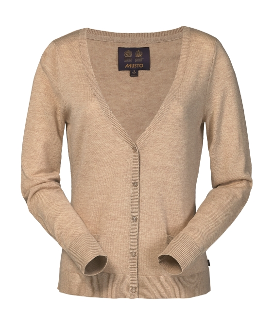 COOKSON MERINO CARDIGAN KNIT