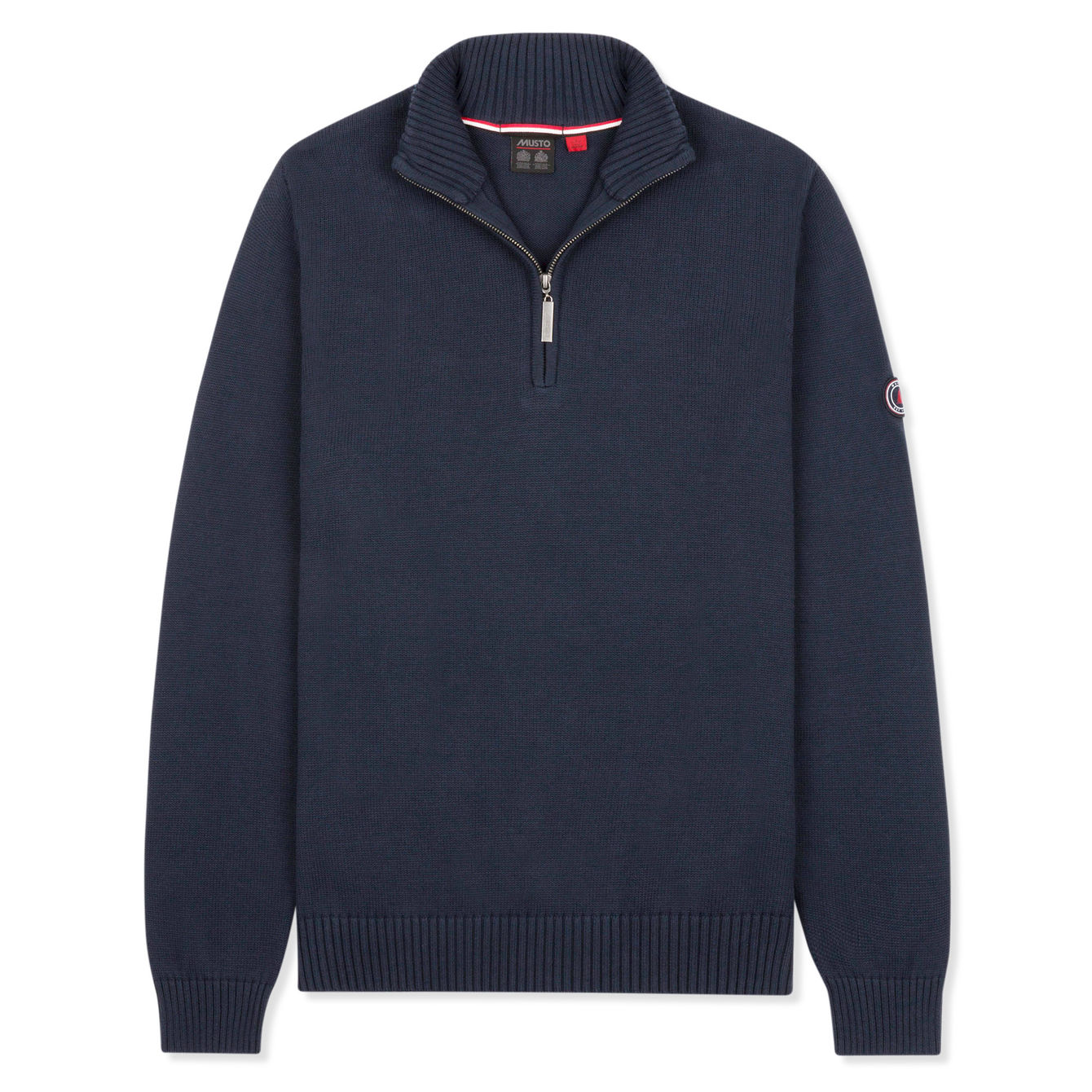 AMBROSE 1/2 ZIP NECK KNIT