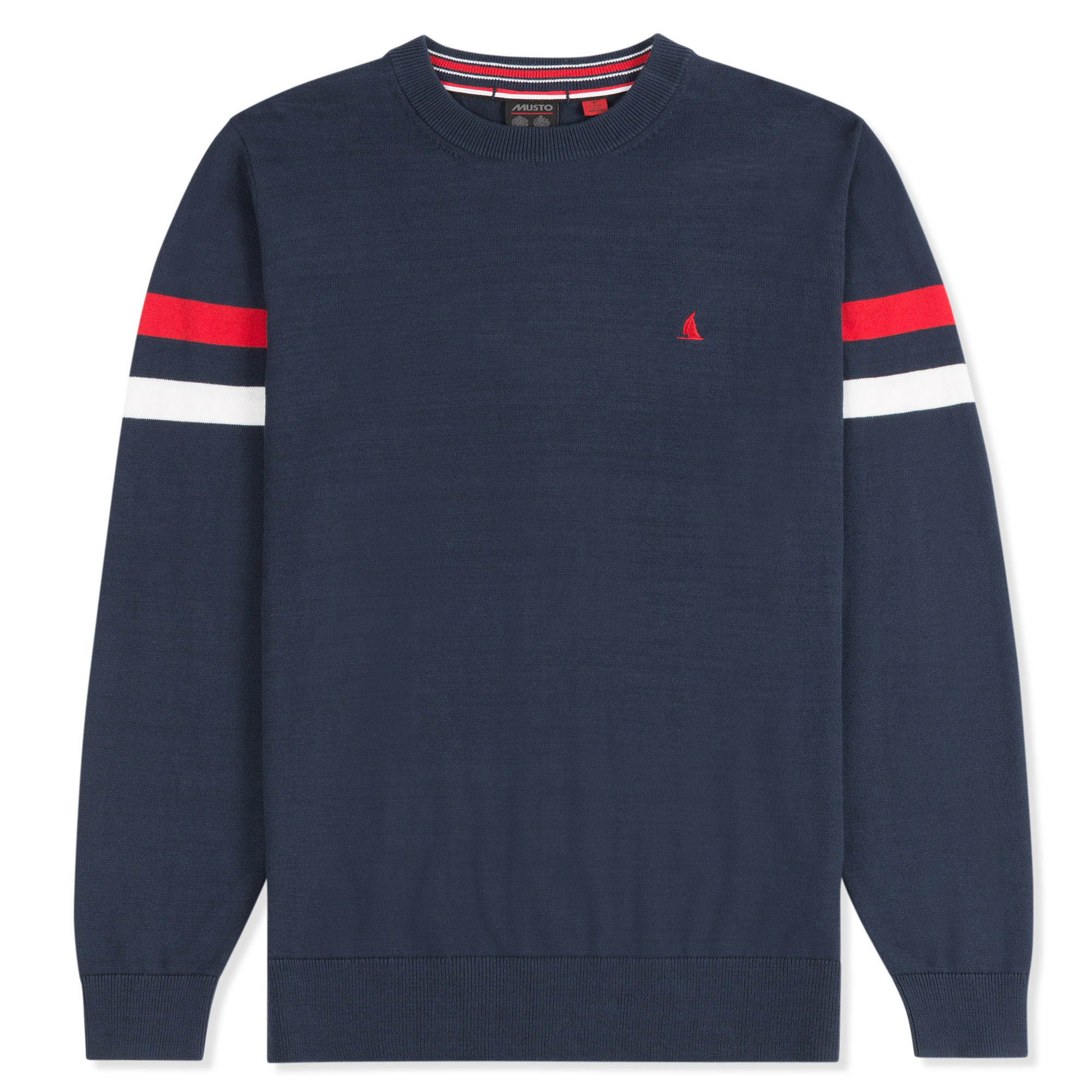 YACHT CREW NECK KNIT