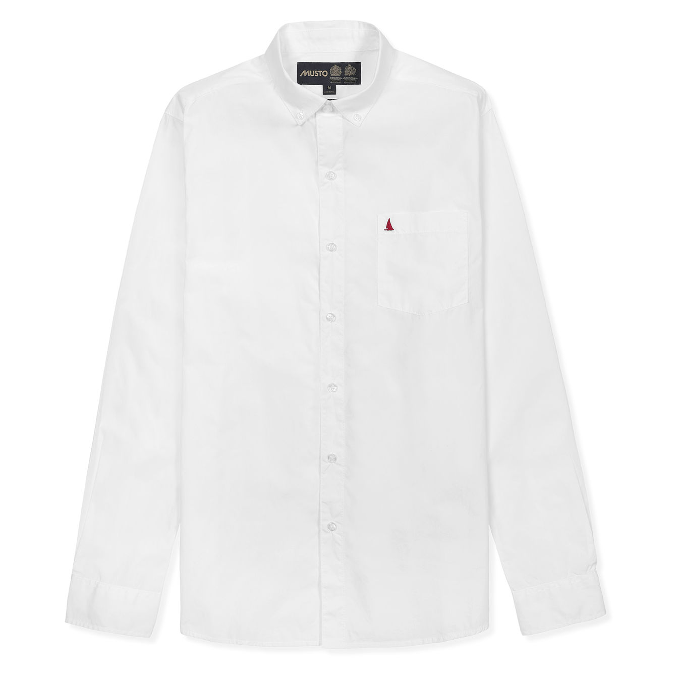 POPLIN BUTTON DOWN LS SHIRT