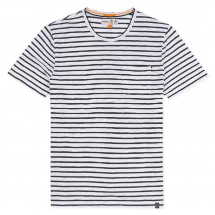 MAWES STRIPE SS TEE