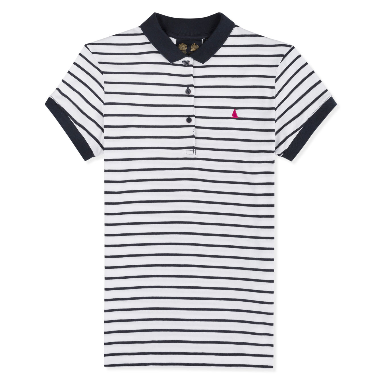 ELLE STRIPED POLO FW