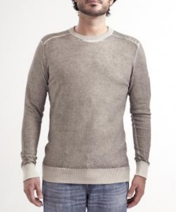 OLBIA ROUND NECK COTTON
