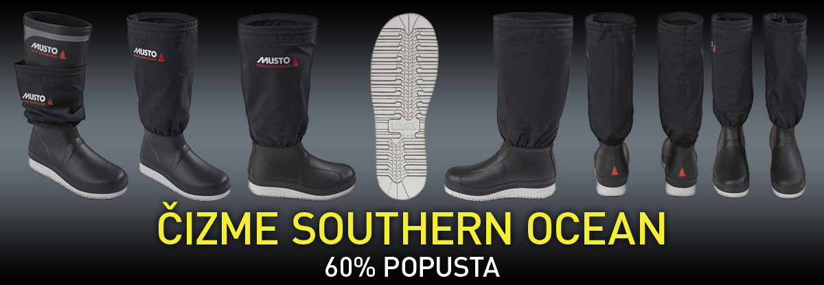 MUSTO SOUTHERN OCEAN BOOT - 60% POPUSTA!