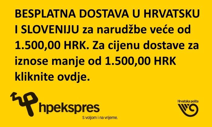 Dostava u Hrvatsku i Sloveniju
