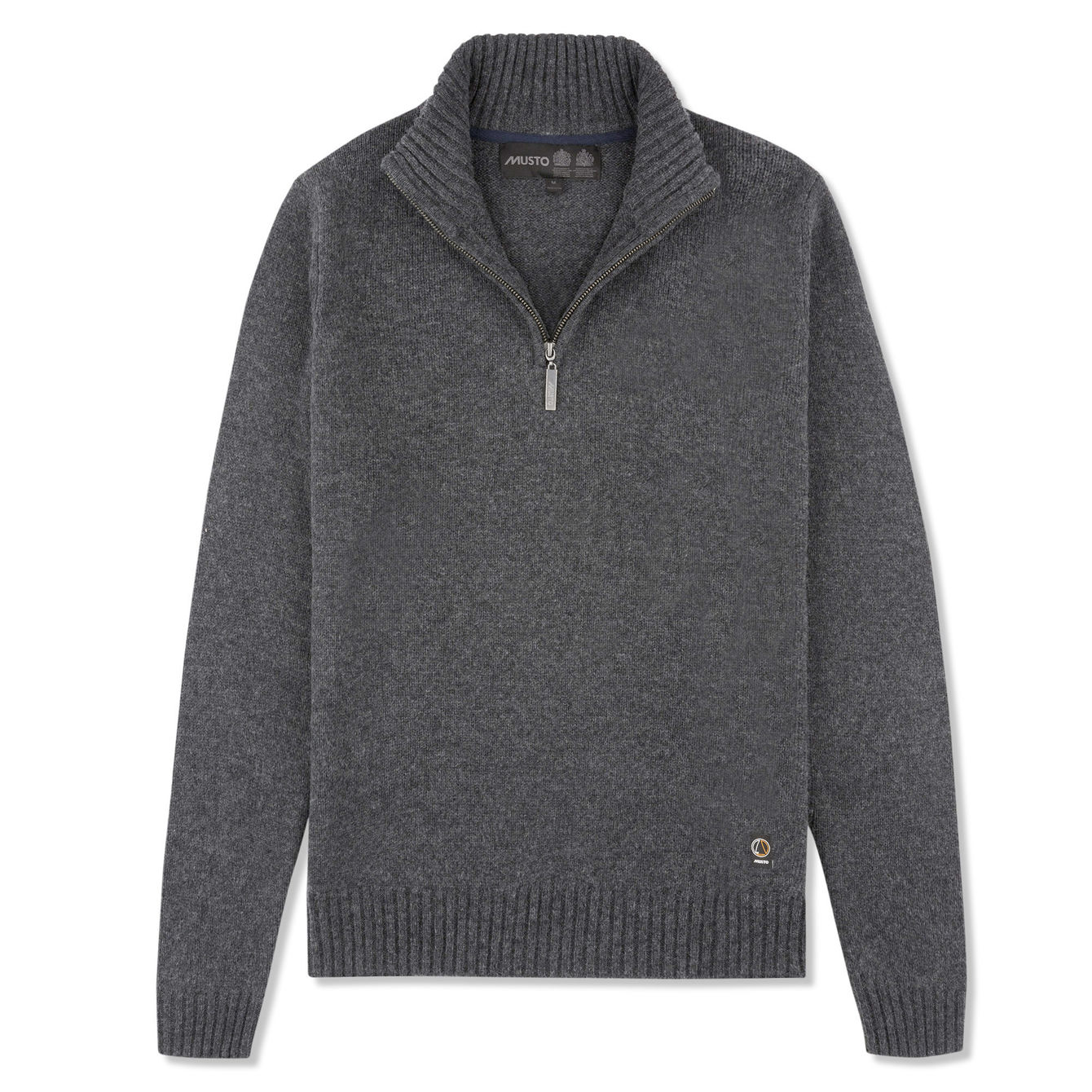 PHOENIX 1/2 ZIP NECK KNIT
