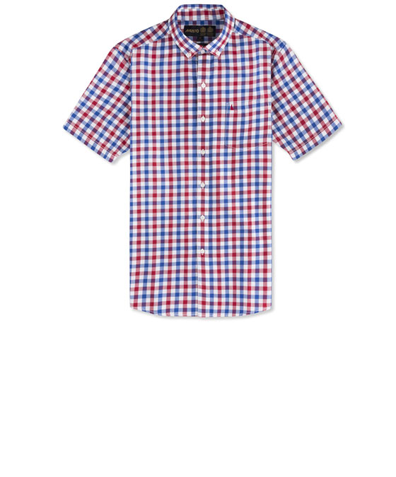 ANCHORAGE SS CHECK SHIRT