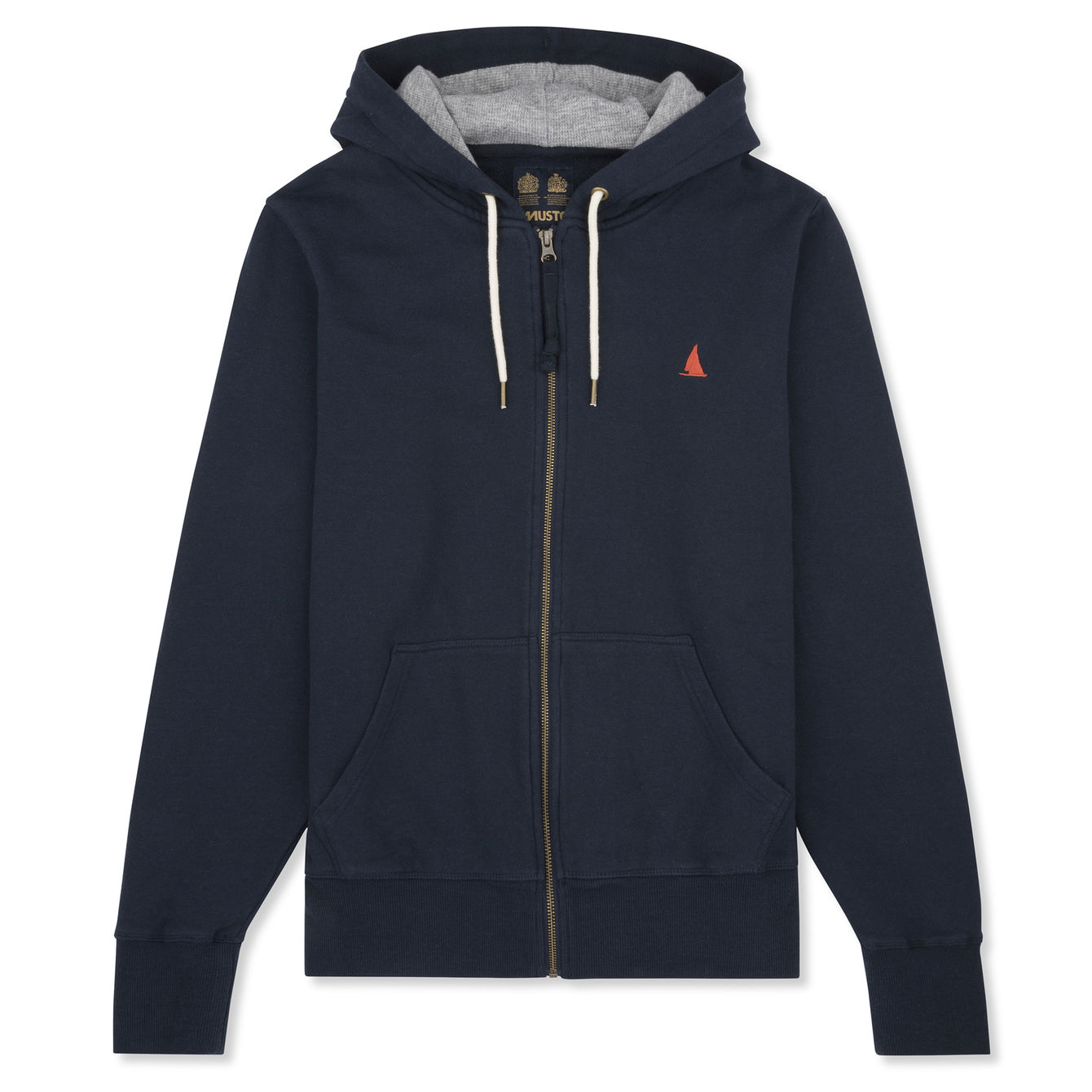 BREAKER ZIP THROUGH HOODY