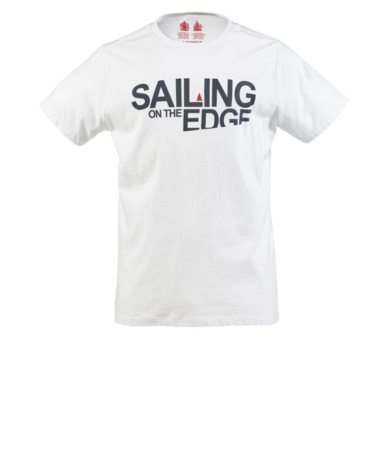 ON THE EDGE SS TEE