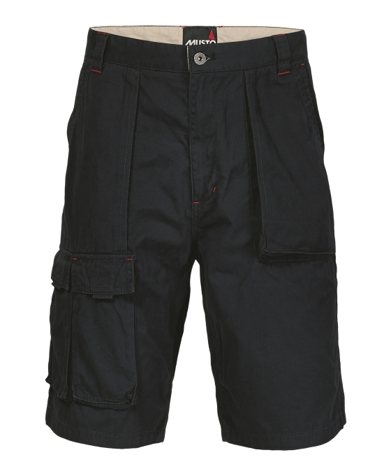 6 POCKET COTTON CREW SHORTS